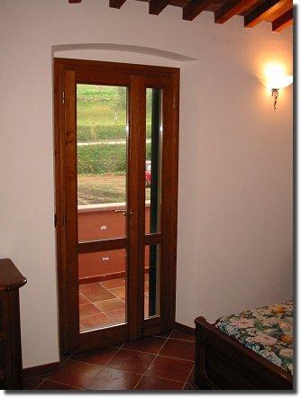 Porta finestra zoppa la locanda dell 39 oca zoppa serramenti in pvc golden oak triplice vetro - Porte finestre legno ...